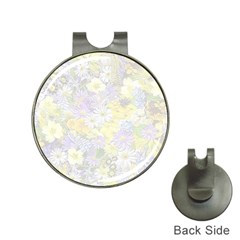 Spring Flowers Soft Hat Clip with Golf Ball Marker