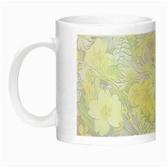 Spring Flowers Soft Glow In The Dark Mug