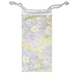 Spring Flowers Soft Jewelry Bag