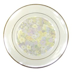 Spring Flowers Soft Porcelain Display Plate