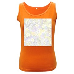 Spring Flowers Soft Womens  Tank Top (Dark Colored)