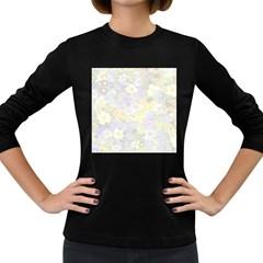 Spring Flowers Soft Womens' Long Sleeve T-shirt (Dark Colored)