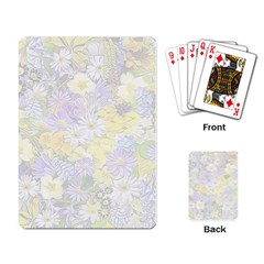 Spring Flowers Soft Playing Cards Single Design
