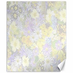 Spring Flowers Soft Canvas 8  X 10  (unframed)