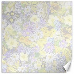 Spring Flowers Soft Canvas 12  x 12  (Unframed)