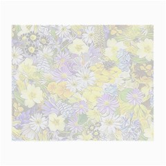 Spring Flowers Soft Glasses Cloth (Small, Two Sided)