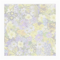 Spring Flowers Soft Glasses Cloth (medium, Two Sided)