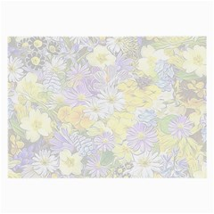 Spring Flowers Soft Glasses Cloth (Large, Two Sided)