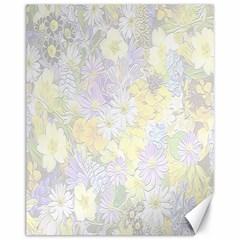 Spring Flowers Soft Canvas 11  x 14  (Unframed)