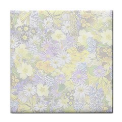 Spring Flowers Soft Face Towel
