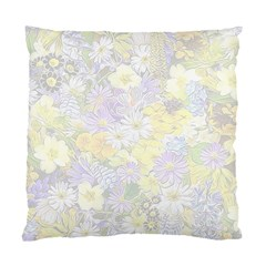 Spring Flowers Soft Cushion Case (Two Sided)