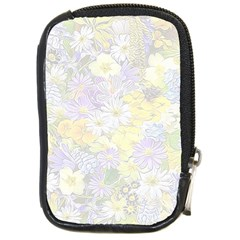 Spring Flowers Soft Compact Camera Leather Case