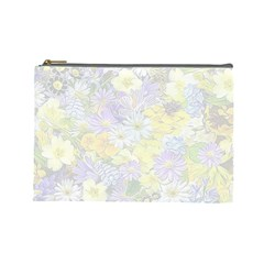 Spring Flowers Soft Cosmetic Bag (Large)