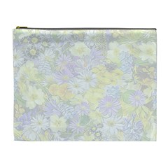 Spring Flowers Soft Cosmetic Bag (XL)