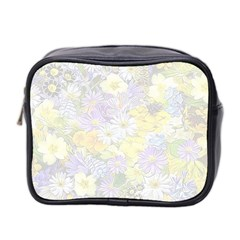 Spring Flowers Soft Mini Travel Toiletry Bag (Two Sides)
