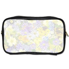 Spring Flowers Soft Travel Toiletry Bag (one Side)