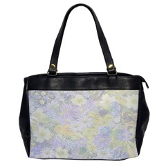 Spring Flowers Soft Oversize Office Handbag (One Side)