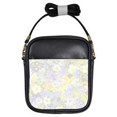 Spring Flowers Soft Girl s Sling Bag