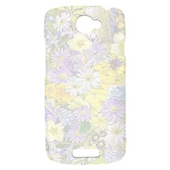 Spring Flowers Soft HTC One S Hardshell Case