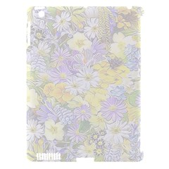 Spring Flowers Soft Apple iPad 3/4 Hardshell Case (Compatible with Smart Cover)