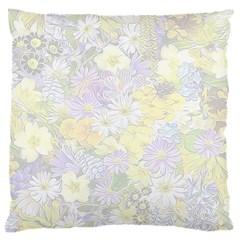 Spring Flowers Soft Large Cushion Case (two Sided)