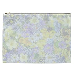 Spring Flowers Soft Cosmetic Bag (xxl)