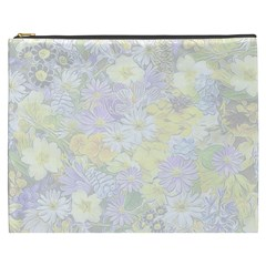 Spring Flowers Soft Cosmetic Bag (XXXL)