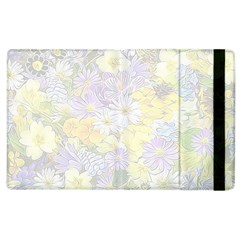 Spring Flowers Soft Apple Ipad 2 Flip Case