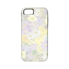 Spring Flowers Soft Apple Iphone 5 Classic Hardshell Case (pc+silicone)