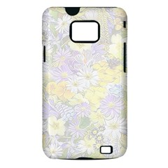 Spring Flowers Soft Samsung Galaxy S II Hardshell Case (PC+Silicone)