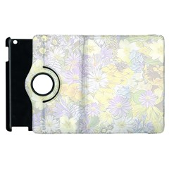 Spring Flowers Soft Apple Ipad 3/4 Flip 360 Case