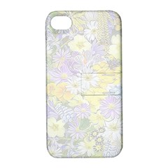 Spring Flowers Soft Apple iPhone 4/4S Hardshell Case with Stand