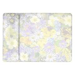 Spring Flowers Soft Samsung Galaxy Tab 10.1  P7500 Flip Case