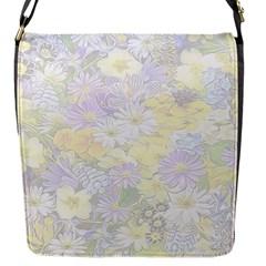 Spring Flowers Soft Flap Closure Messenger Bag (Small)