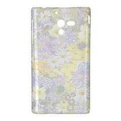 Spring Flowers Soft Sony Xperia ZL L35H Hardshell Case