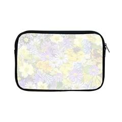 Spring Flowers Soft Apple iPad Mini Zippered Sleeve