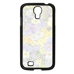 Spring Flowers Soft Samsung Galaxy S4 I9500/ I9505 Case (black)