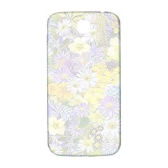 Spring Flowers Soft Samsung Galaxy S4 I9500/i9505  Hardshell Back Case