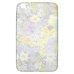 Spring Flowers Soft Samsung Galaxy Tab 3 (8 ) T3100 Hardshell Case