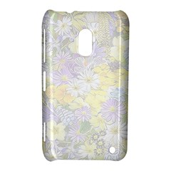Spring Flowers Soft Nokia Lumia 620 Hardshell Case