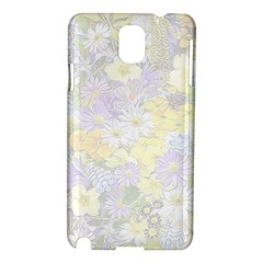 Spring Flowers Soft Samsung Galaxy Note 3 N9005 Hardshell Case