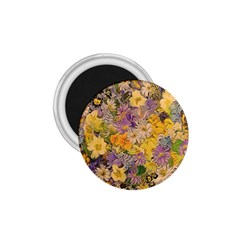 Spring Flowers Effect 1.75  Button Magnet
