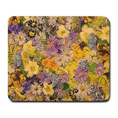 Spring Flowers Effect Large Mouse Pad (rectangle)