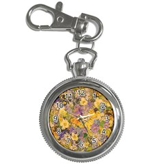 Spring Flowers Effect Key Chain & Watch