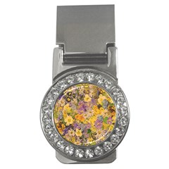 Spring Flowers Effect Money Clip (CZ)