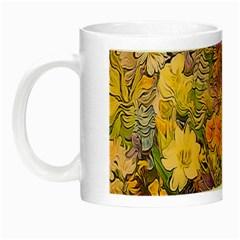 Spring Flowers Effect Glow in the Dark Mug