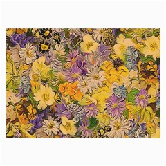 Spring Flowers Effect Glasses Cloth (Large)