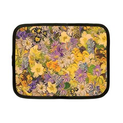 Spring Flowers Effect Netbook Sleeve (Small)