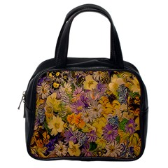 Spring Flowers Effect Classic Handbag (One Side)