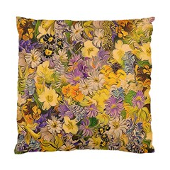 Spring Flowers Effect Cushion Case (Two Sided)